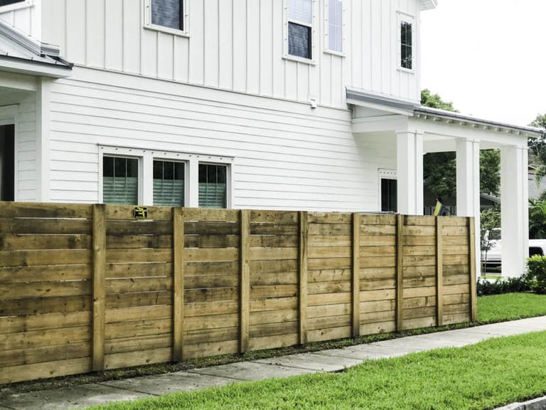 Florida State Fence Wooden Fence