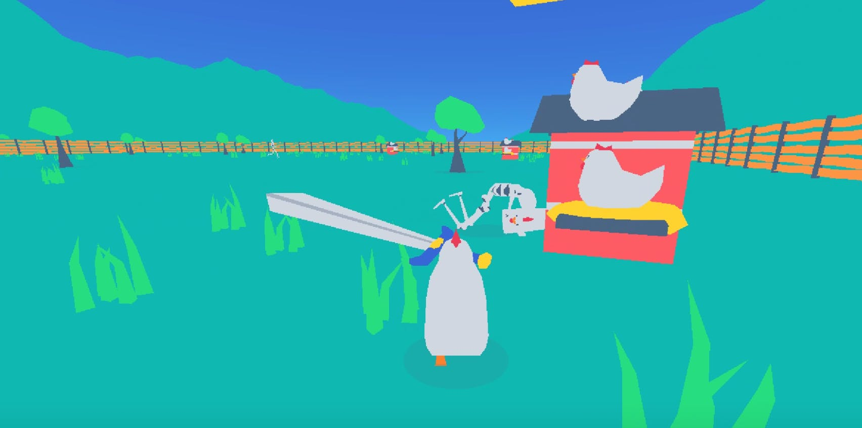 Chick'n Sword - Made with Godot
