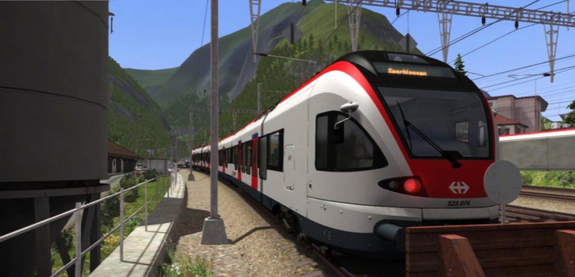 Rivet Games' Train Simulator