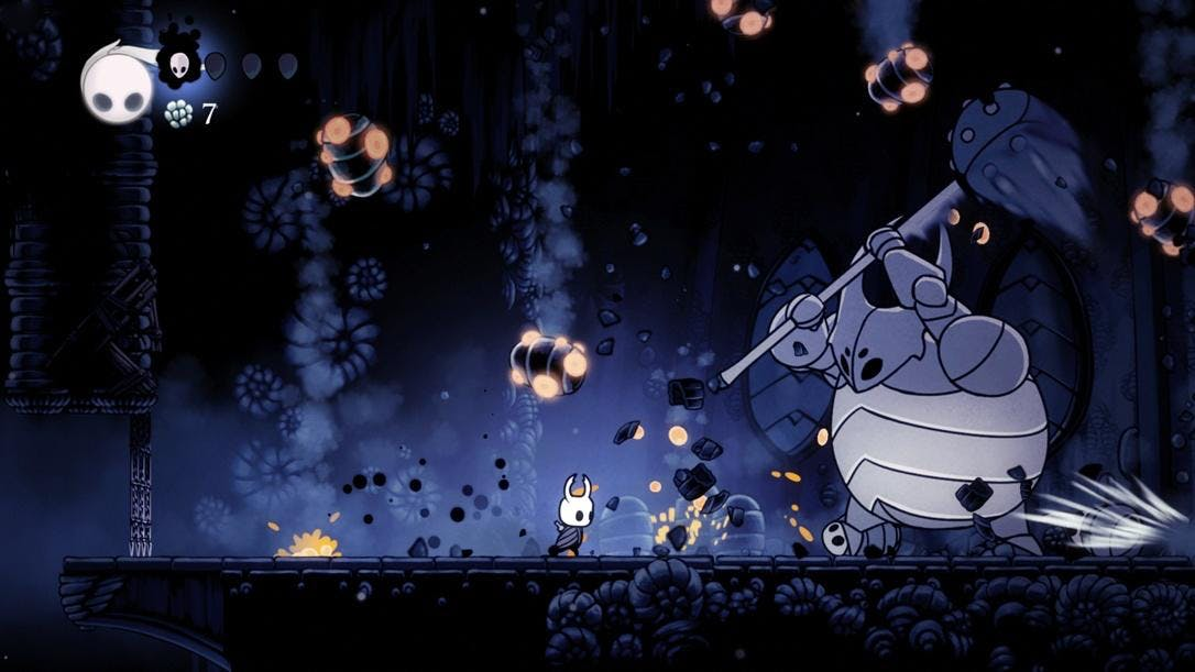 Hollow Knight - Made with Unity