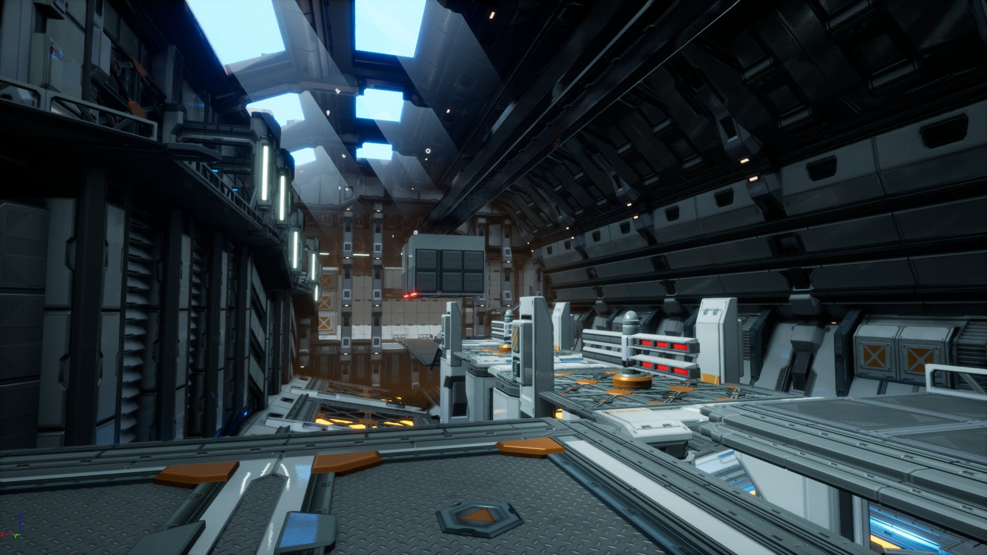 Above: Players might not have time to stop and admire the sci-fi trappings of Morticai's