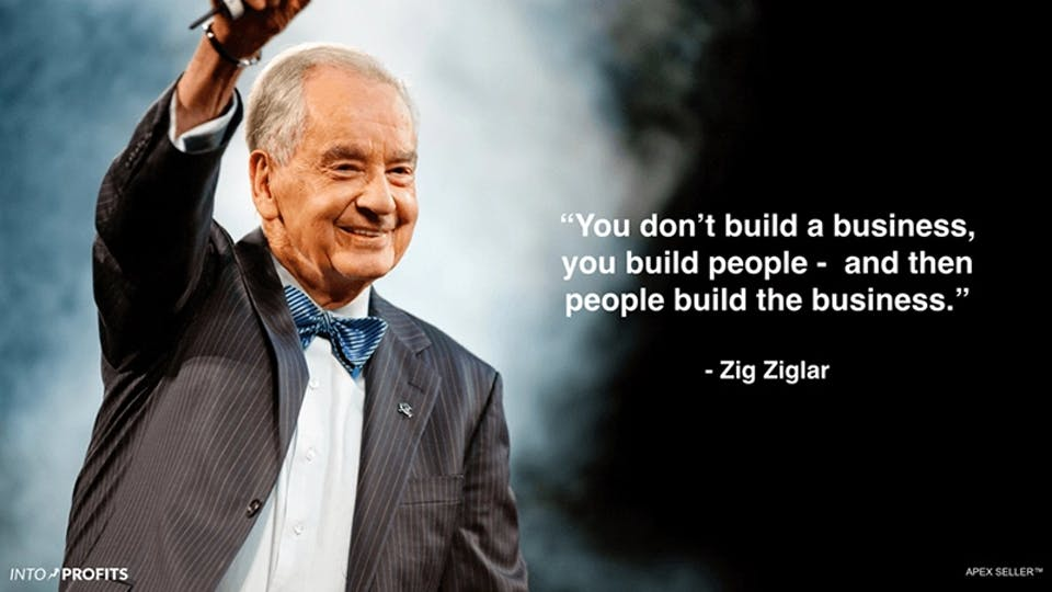 Build People And Let Them Build The Business