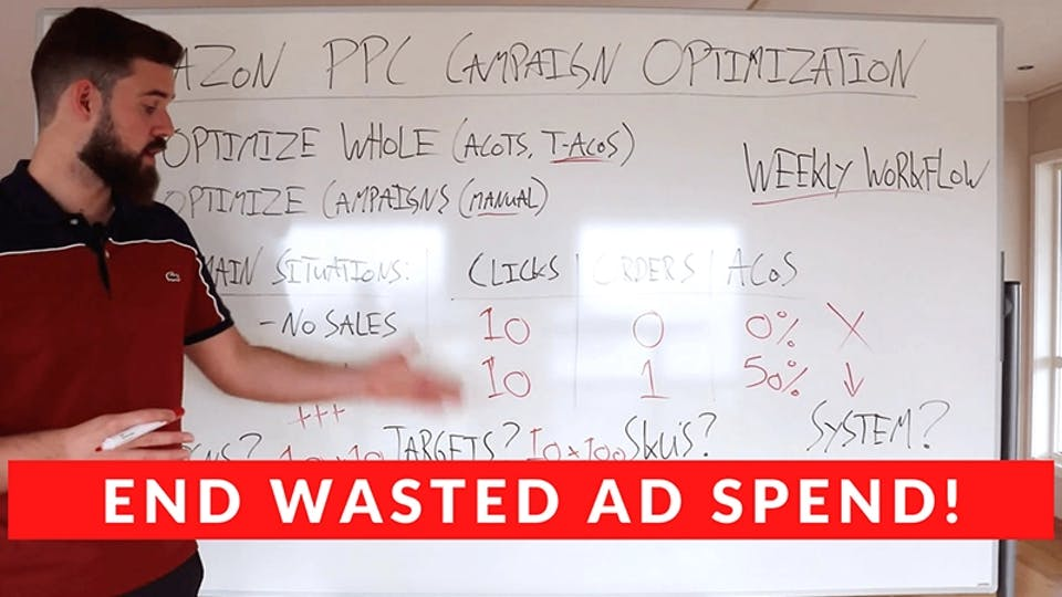 How To Optimize Amazon PPC Campaigns Properly (Save $1,000's!)