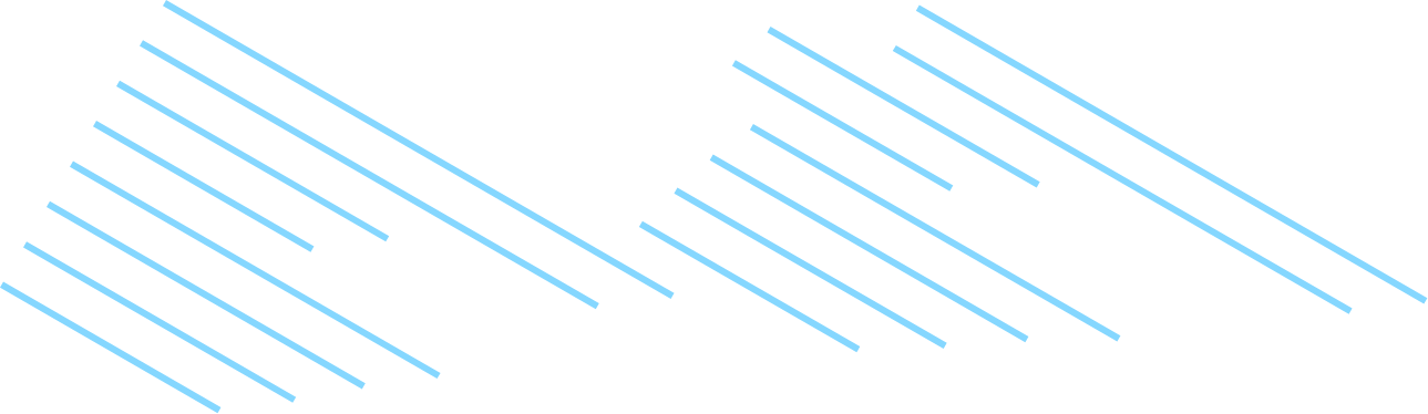 blue lines in a triangular shape