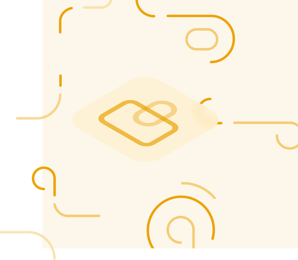 secure logo surrounded by swirly lines
