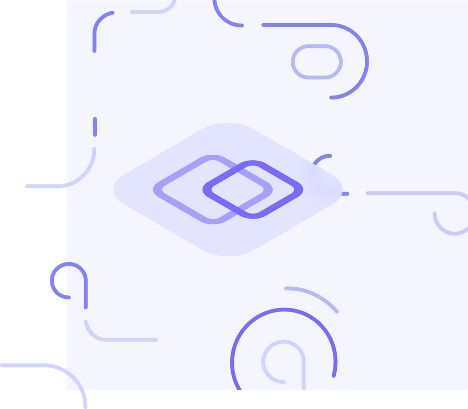 build logo with swirly lines around
