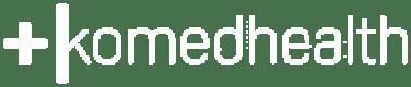 Komed Health text logo