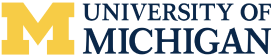 University of Michigan logo and text