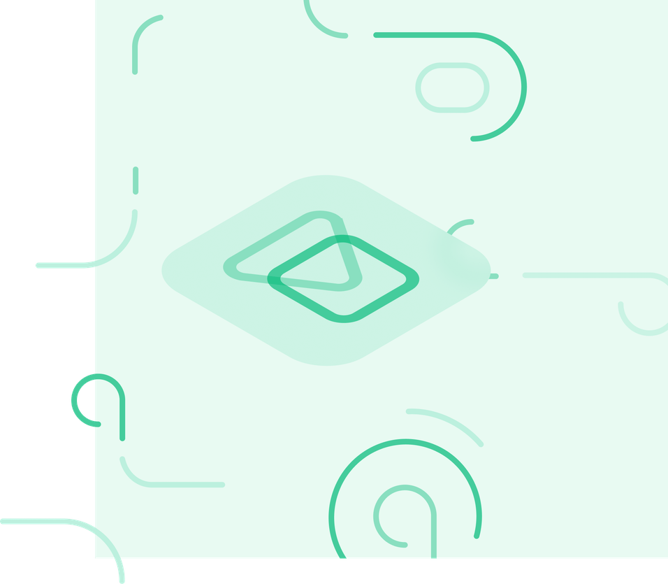deliver icon surrounded by swirly lines