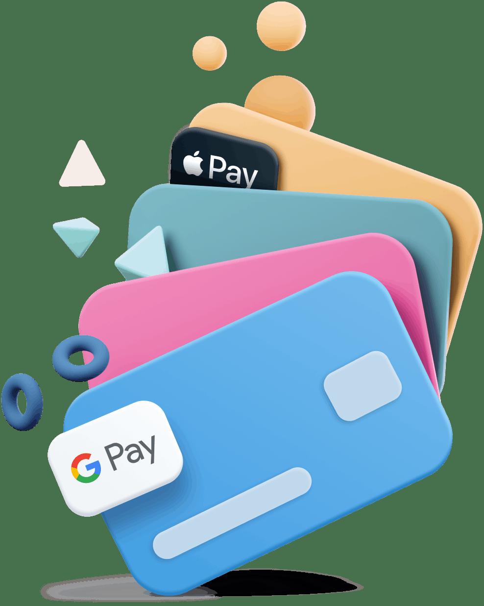 cartoon credit cards