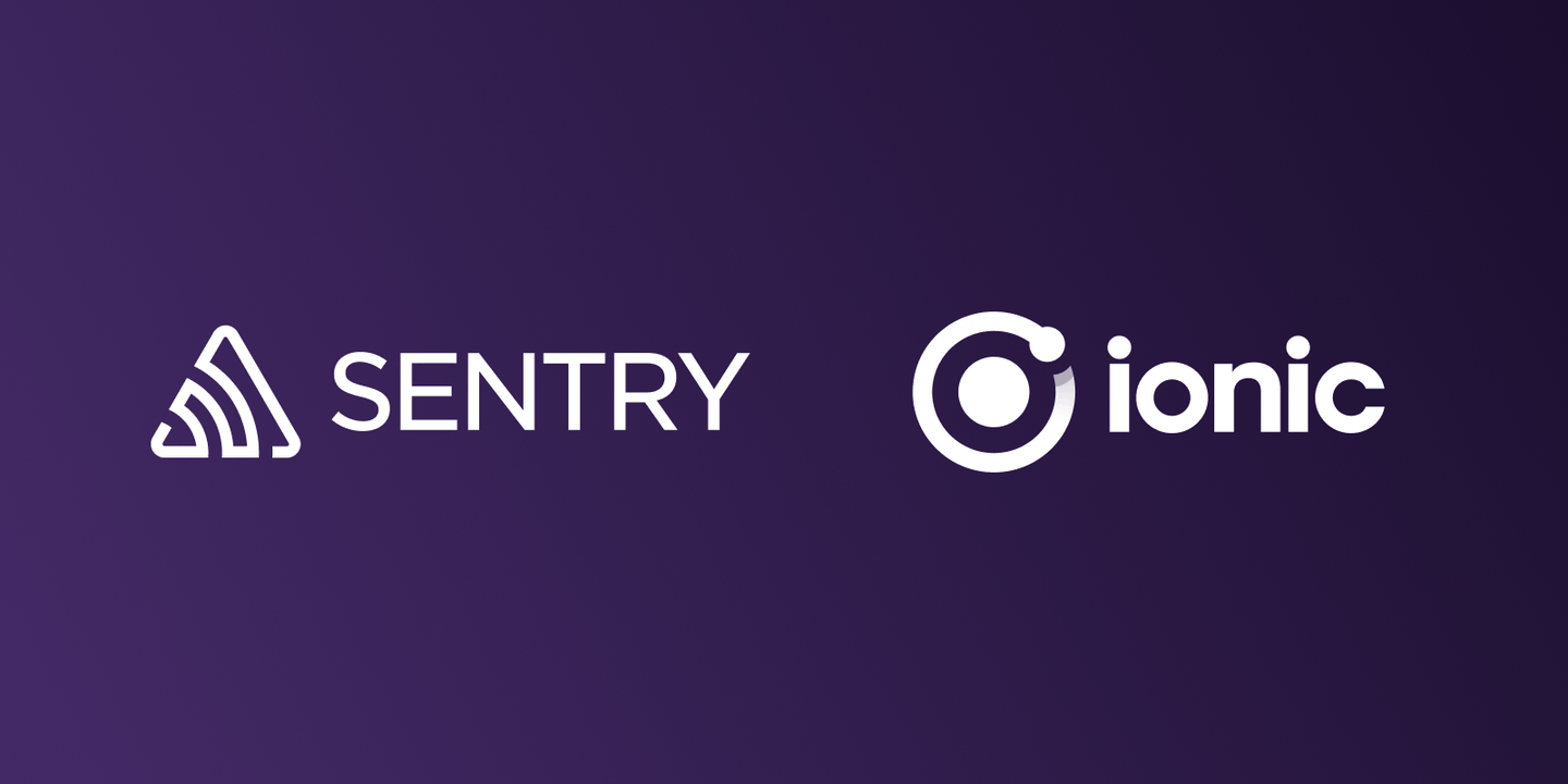 Real time application monitoring for Ionic Apps with Sentry