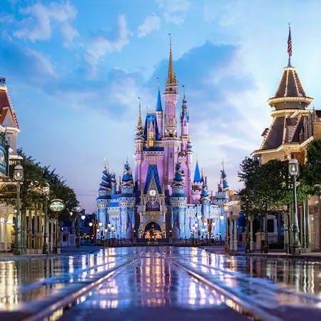 Disney castle at Walt Disney World Resort - copyright Disney