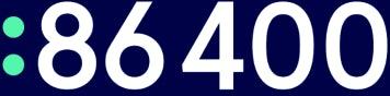 86400 logo