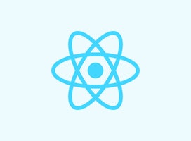 react logo tile