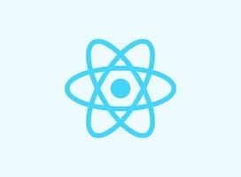 react logo tile