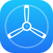 blue testflight icon