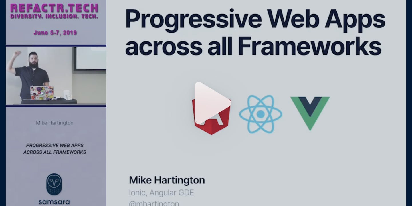 Progressive Web Apps Across All Frameworks