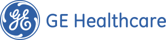 GE Healthcare text and logo