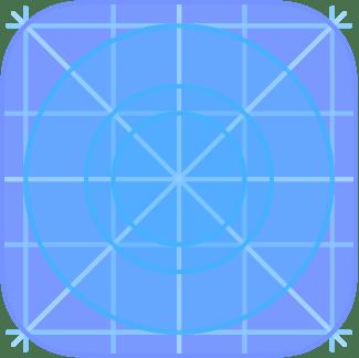 box with circles icon