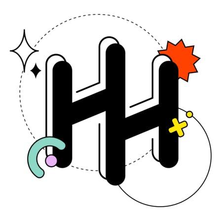 Ho's personal branding logo