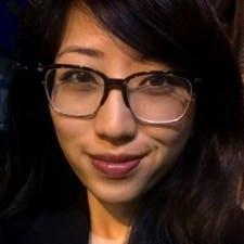 Headshot of female with glasses