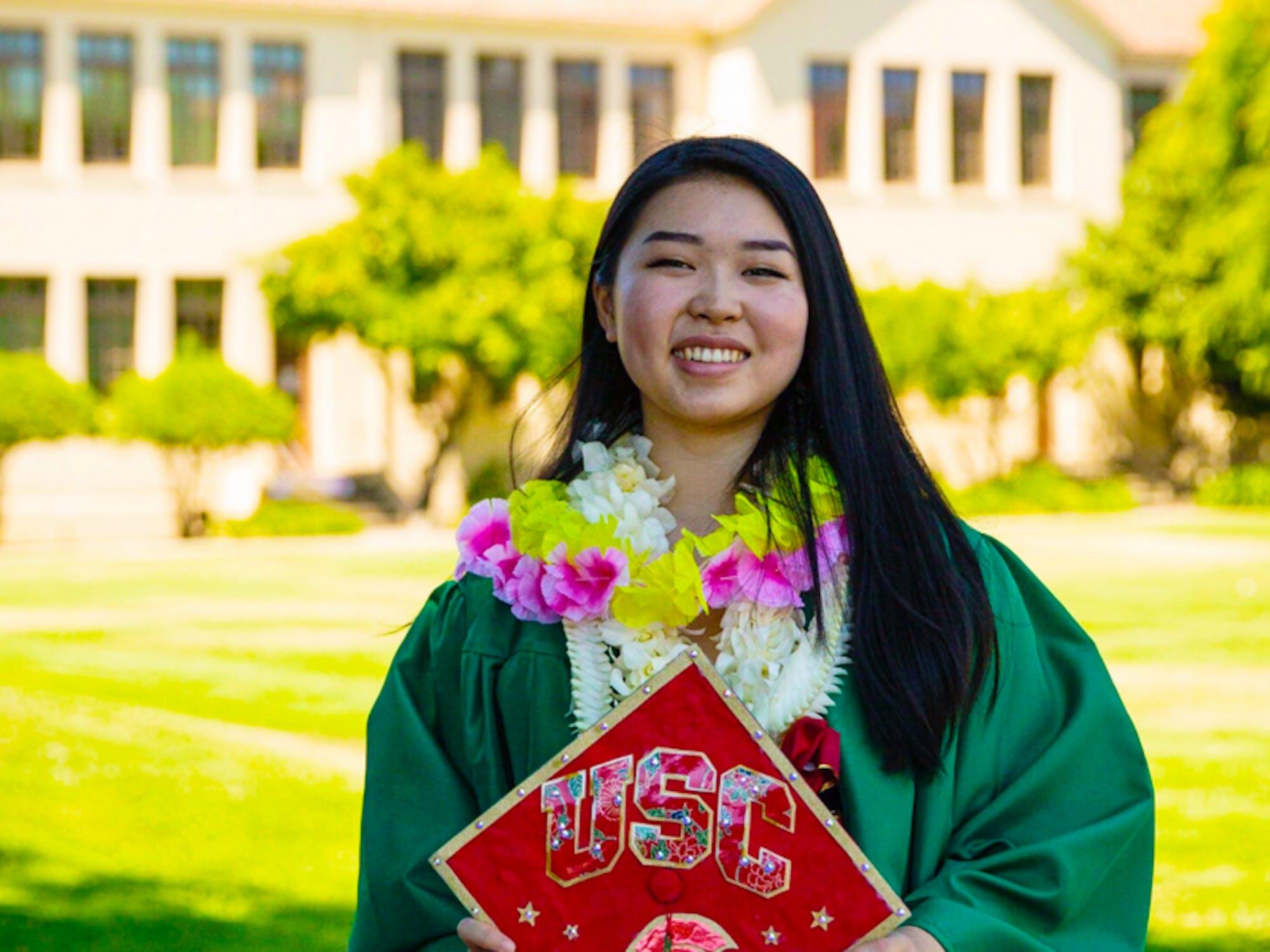 Haley Ho graduating from USC