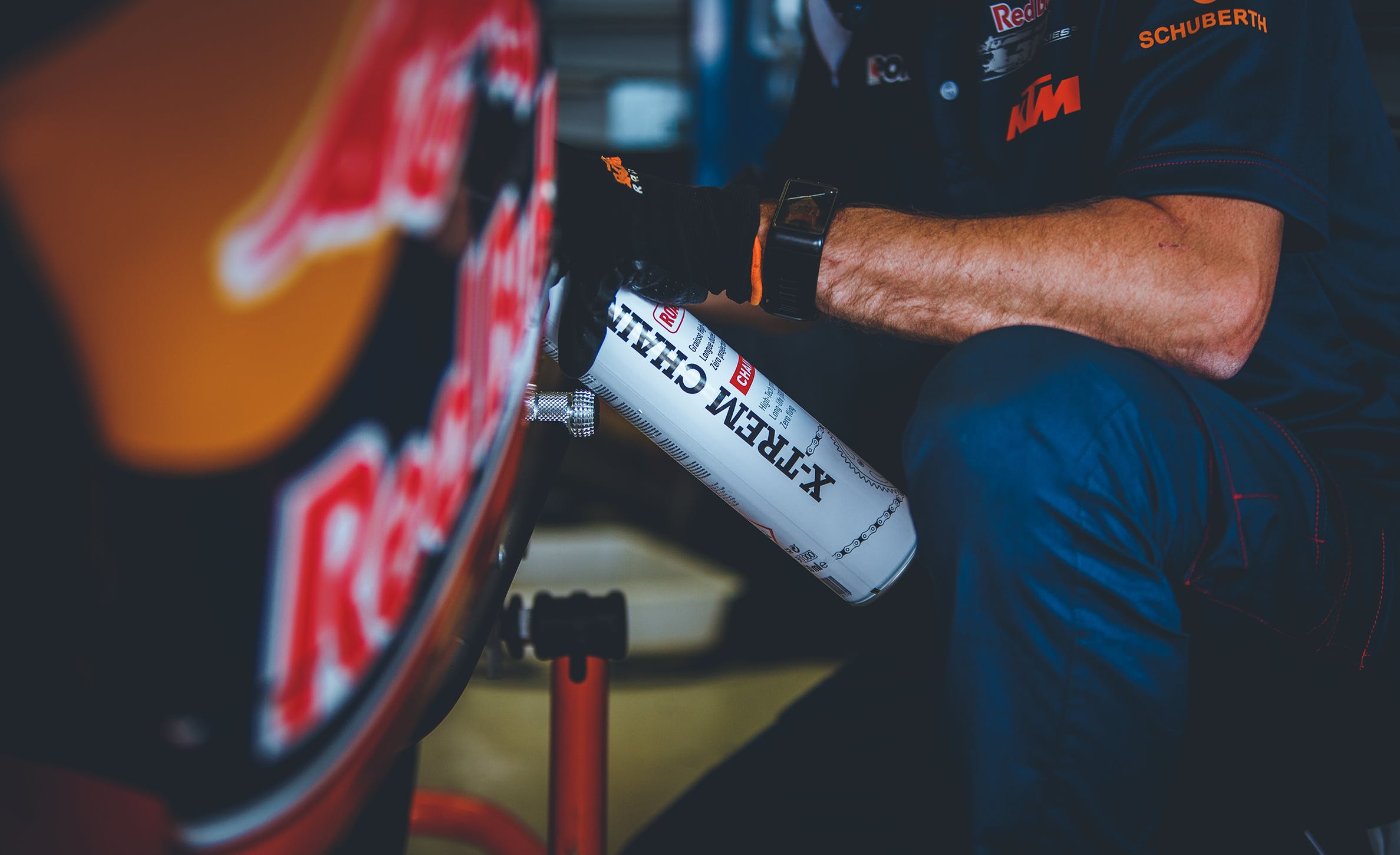 Graisse de chaîne x-trem chain road Red Bull Rookies Cup