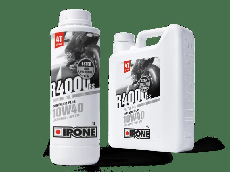 Bidons huile moteur moto ipone R4000 RS