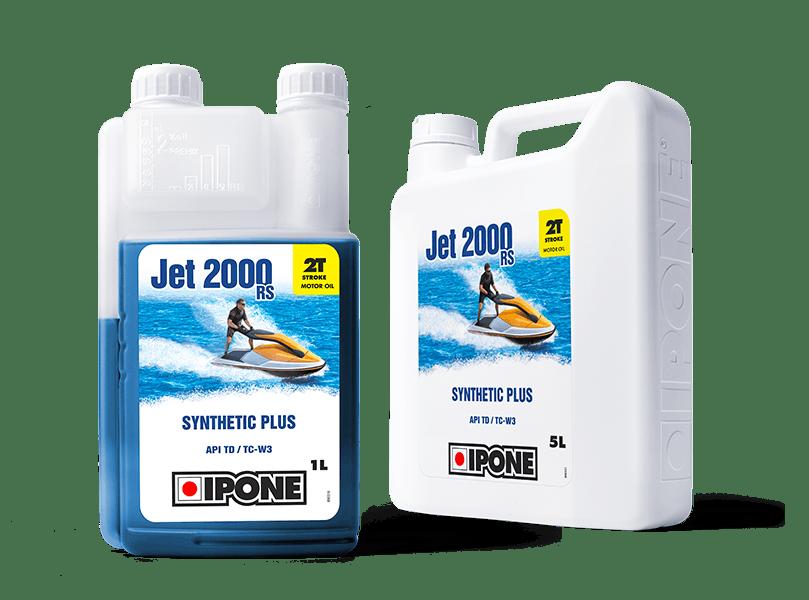 Bidons 1L et 5L huile jet ski 2 temps jet 2000 rs ipone
