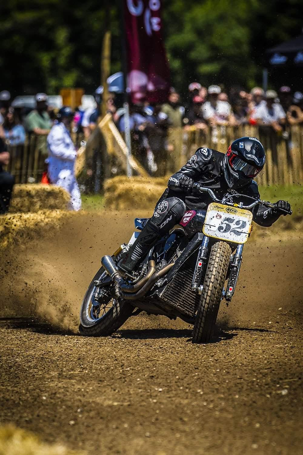 Wilfried Delestre course Flat Track