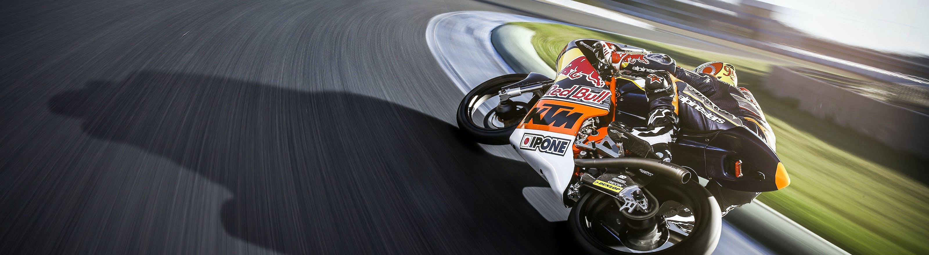 Moto racing sur circuit