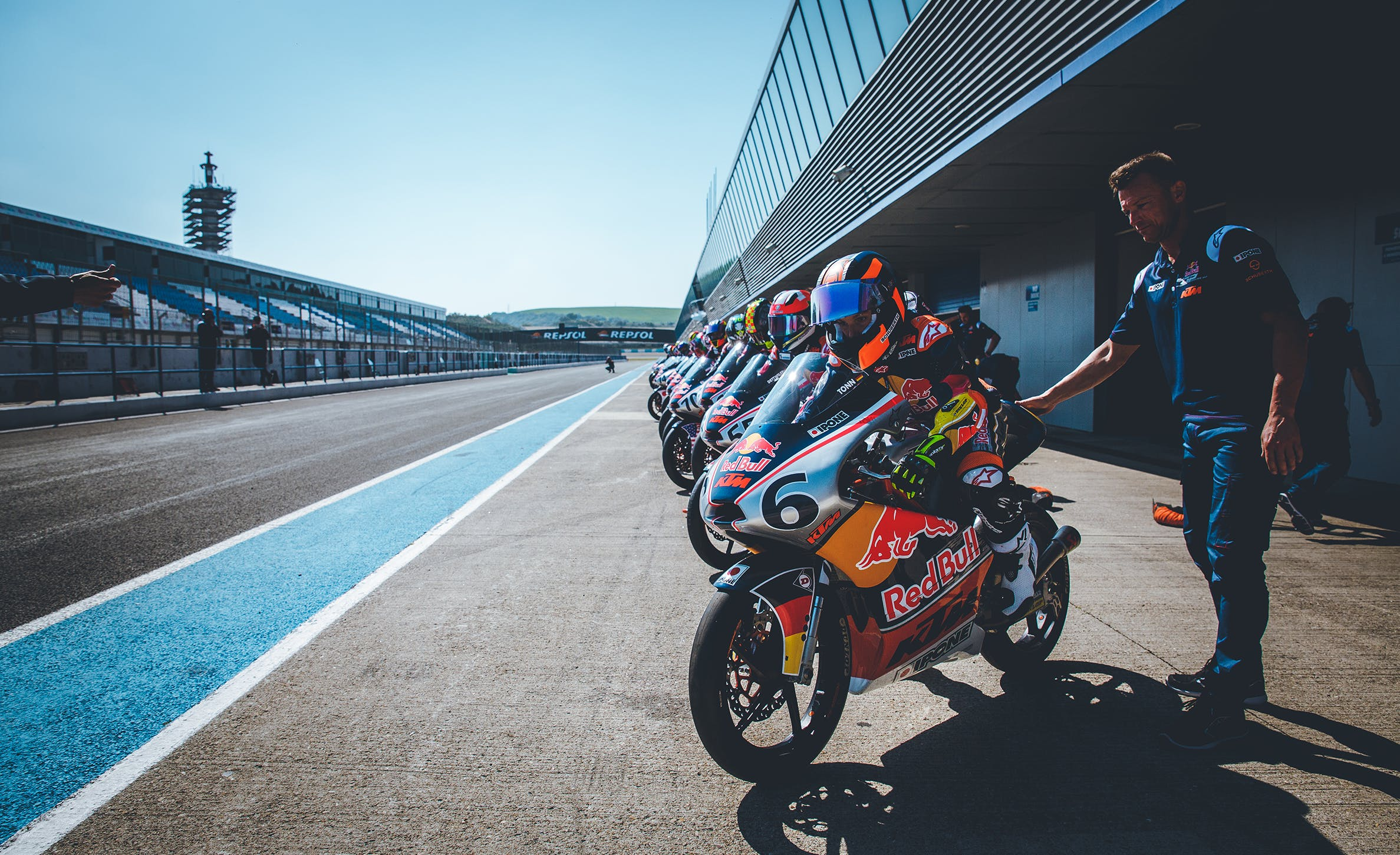 Départ Red Bull Rookies Cup