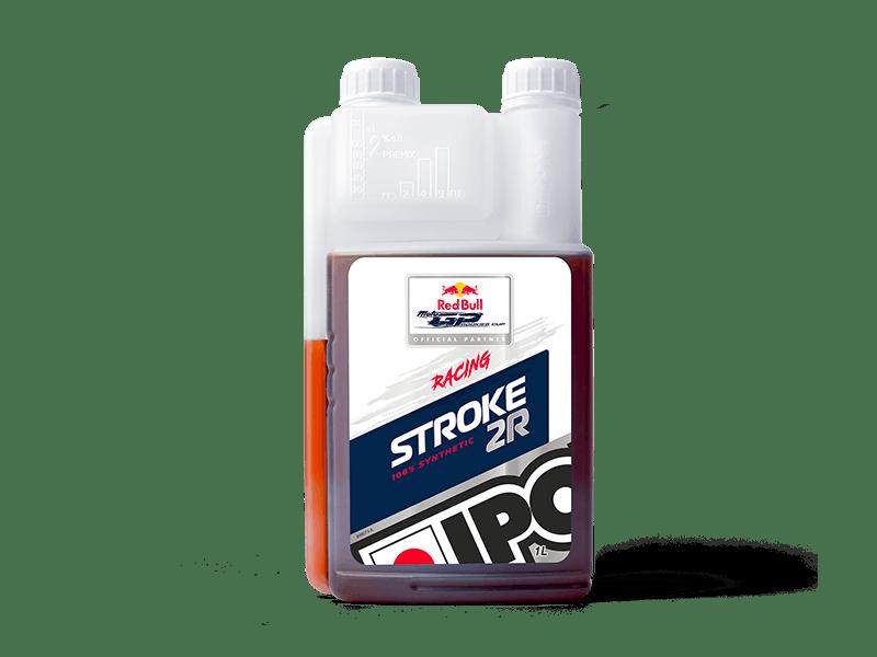 bidon doseur 1L huile moteur 2 temps compétition IPONE STROKE 2R