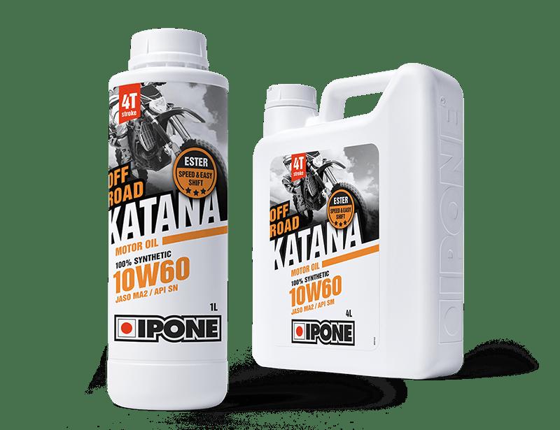 Bidons huile moteur moto katana off-road ipone