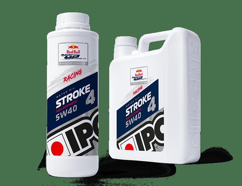 Bidons huile moteur moto compétition stroke 4 racing ipone