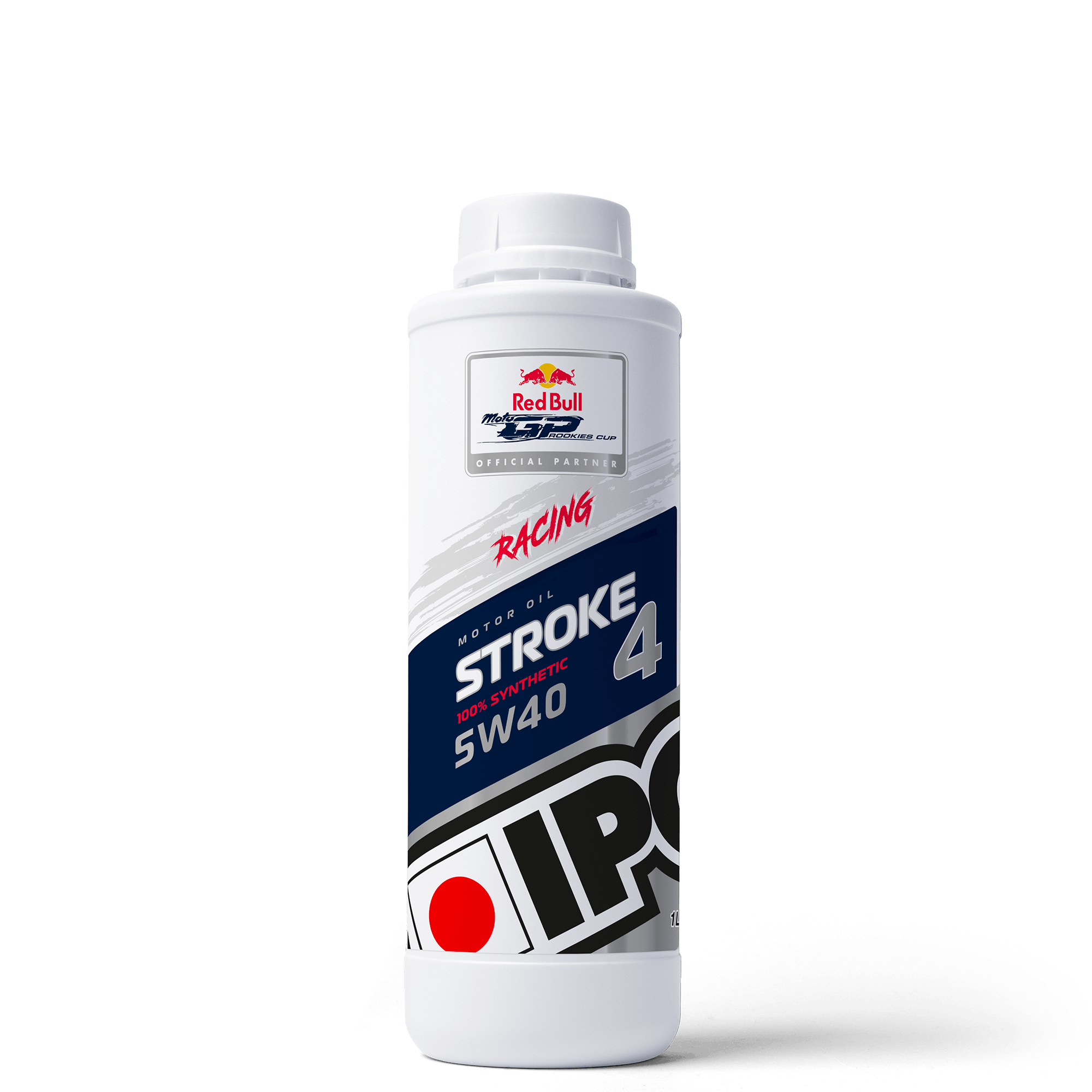 Bidon huile moteur moto compétition Stroke 4 racing ipone