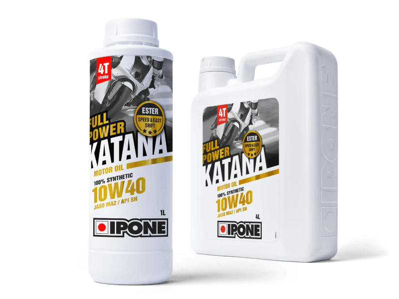 Bidons huile moteur moto full-power katana ipone