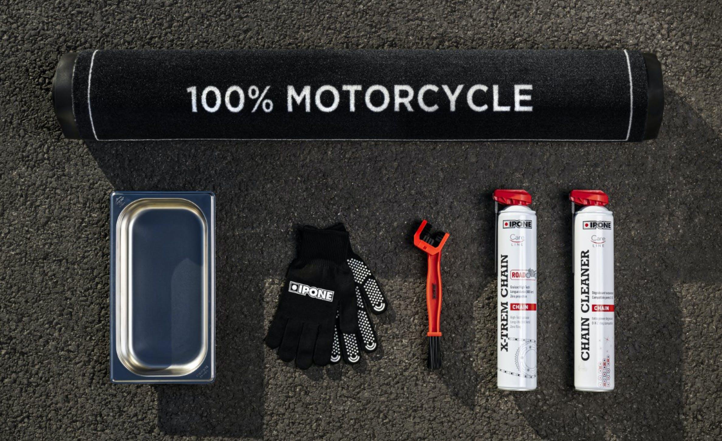 Produits et accessoires entretien chaîne moto