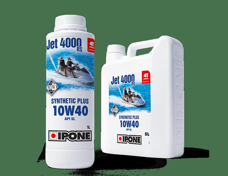Bidons 1L et 5L huile moteur jet ski 4 temps JET 4000 RS