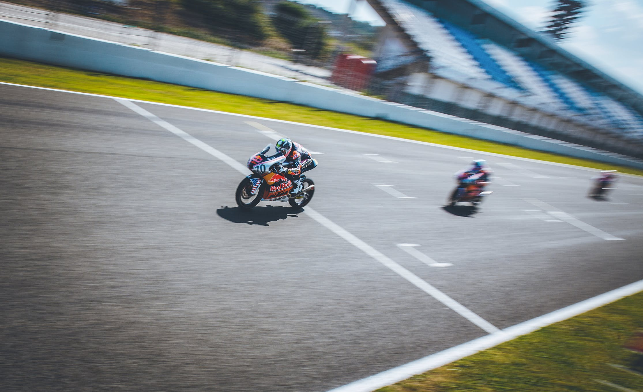 Motos en course Red Bull MotoGP Rookies Cup
