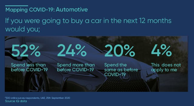 If you were going to buy a car in the next 12 months how much would you spend?