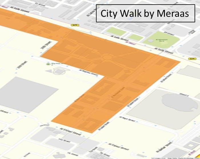 City Walk by Meraas Geo-Fence