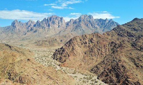 image of Jabal Warqan - A mountain of Paradise
