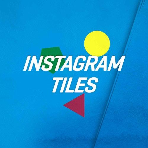 Instagram tiles icon