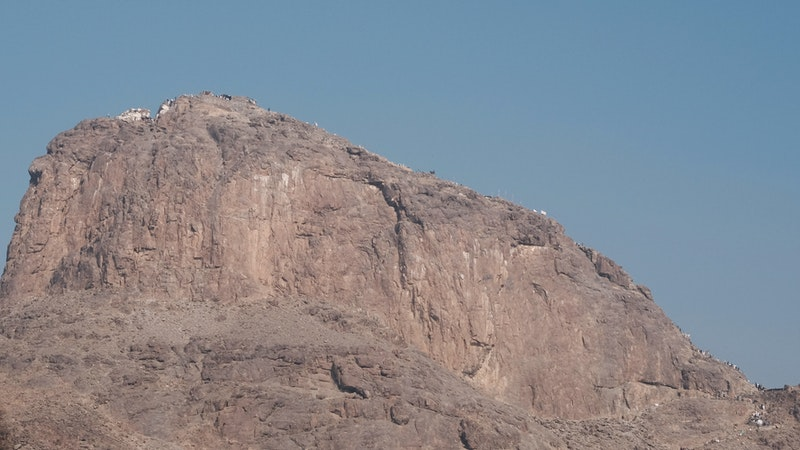Jabal Thawr from the Ground