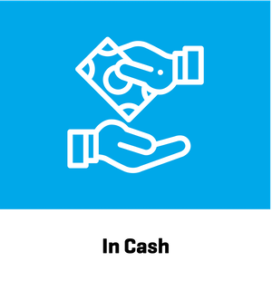 By Cash
