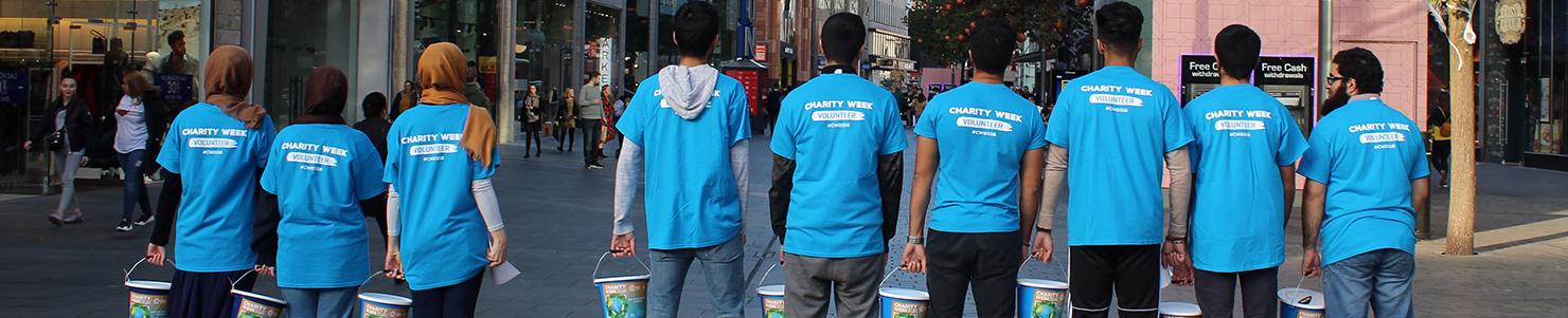 Charity Week 2021 banner