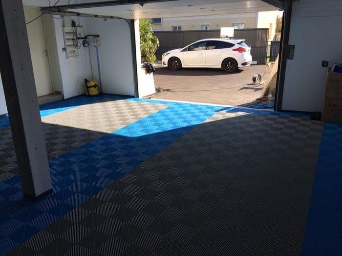 Dalles de sol garage IZIFLOOR