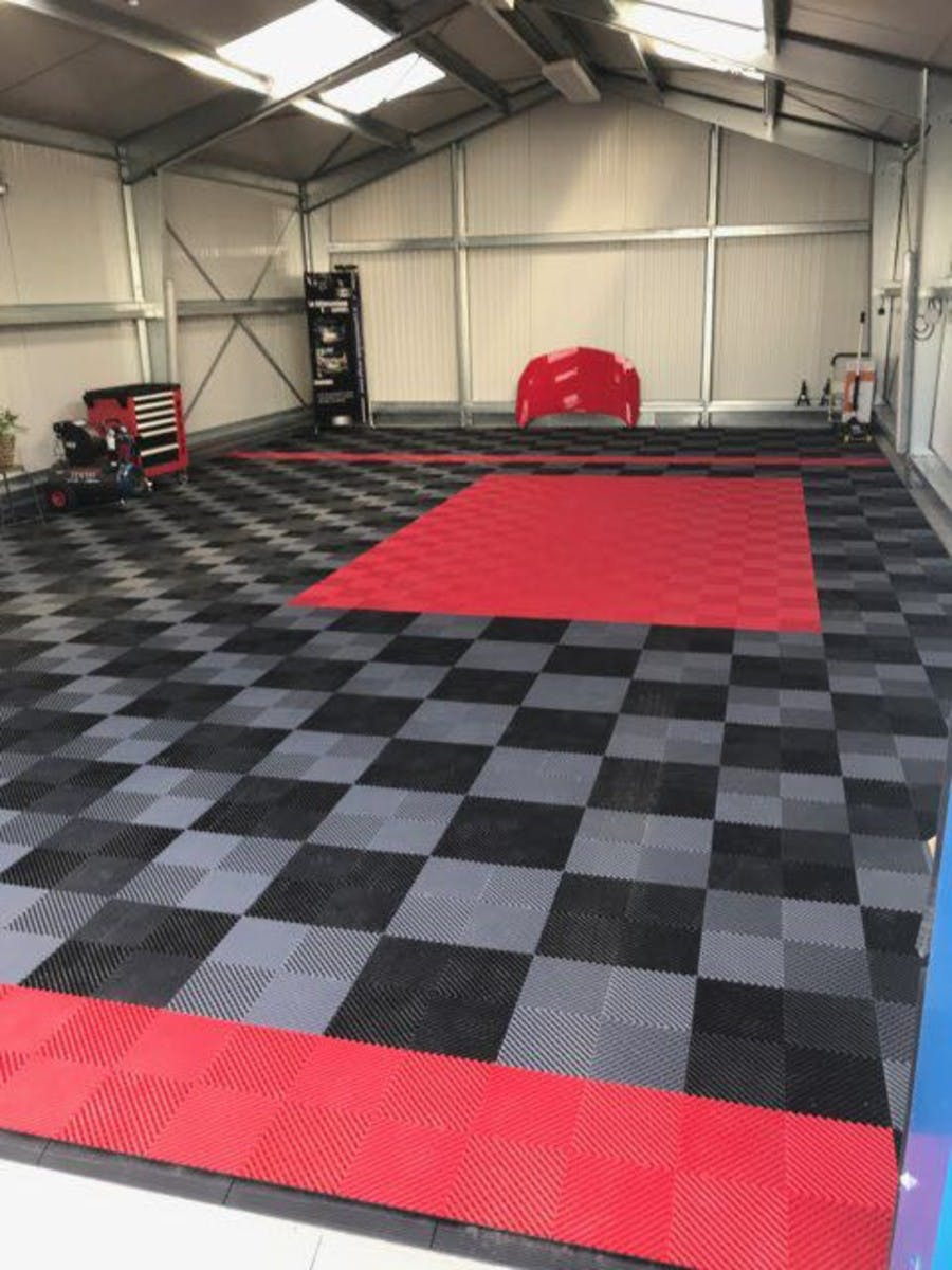 Revetement sol garage Izifloor