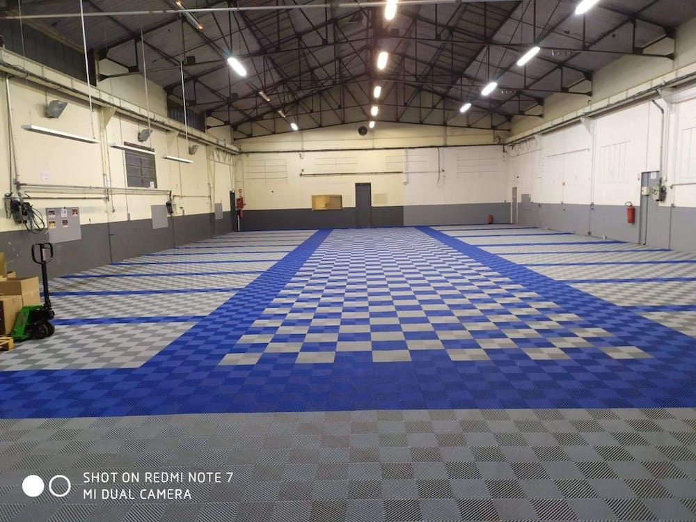 Revêtement de sol garage Izifloor